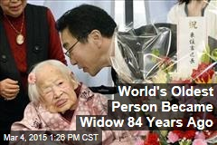 World's Oldest Person Became Widow 84 Years Ago