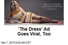 'The Dress' Ad Goes Viral, Too