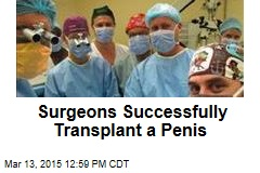 Surgeons Successfully Transplant a Penis