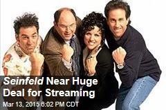 Seinfeld Near Huge Deal for Streaming