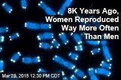 8K Years Ago, Women Reproduced Way More Often Than Men