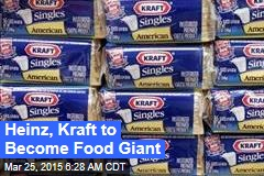 Heinz, Kraft to Become Food Giant