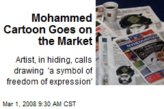 Mohammed Cartoon Goes on the Market