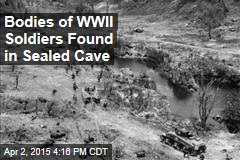 Bodies of WWII Japanese Soldiers Found in Caves