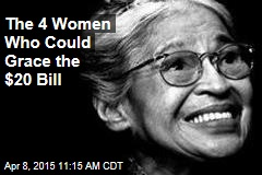 The 4 Women Who Could Grace the $20 Bill