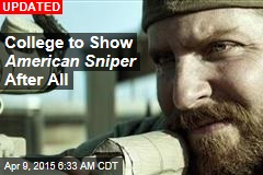 College Scraps American Sniper After Protests, Subs in Paddington