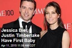 Jessica Biel, Justin Timberlake Have First Baby