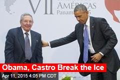 Obama, Castro Have Historic Sit-Down