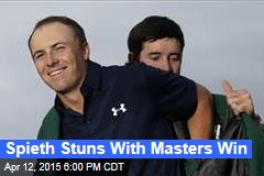 Spieth Stuns With Masters Win