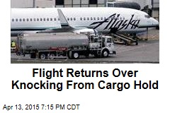 Flight Returns Over Knocking From Cargo Hold