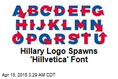 Hillary Logo Spawns 'Hillvetica' Font