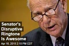 Senator's Disruptive Ringtone Is Awesome