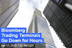 Bloomberg Trading Terminals Go Down for Hours
