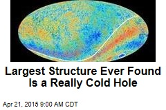 Largest Structure Ever Found Is a Really Cold Hole