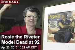Rosie the Riveter Model Dead at 92