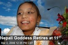 Nepali Goddess Retires at 11