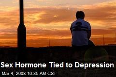 Sex Hormone Tied to Depression