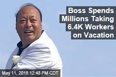 Boss Takes 6.4K Workers on Whirlwind French Vacay
