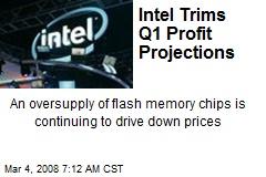 Intel Trims Q1 Profit Projections