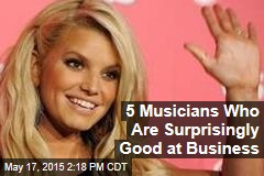 5 Musicians Who Are Surprisingly Good at Business