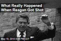 What Really Happened When Reagan Got Shot
