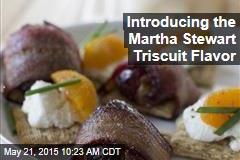 Introducing the Martha Stewart Triscuit Flavor