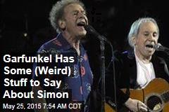 Garfunkel Has Some (Weird) Stuff to Say About Simon
