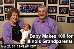Baby Makes 100 for Illinois Grandparents