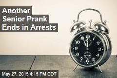 Another Senior Prank Ends in Arrests
