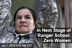 In Next Stage of Ranger School: Zero Women