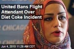 United Bans Flight Attendant Over Diet Coke Incident