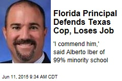 Florida Principal Defends Texas Cop, Loses Job