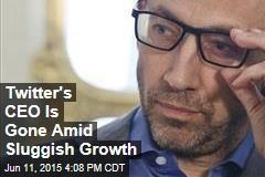 Twitter's CEO Is Gone Amid Sluggish Growth