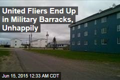US-to-UK Passengers End Up in Canadian Military Barracks