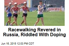 Racewalking Revered in Russia, Riddled With Doping