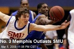 No. 3 Memphis Outlasts SMU