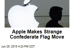 Apple Makes Strange Confederate Flag Move