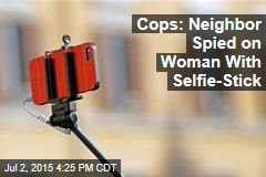 Selfie-Stick Sex Crime Now on the Books in Maryland
