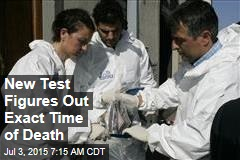 New Test Figures Out Exact Time of Death