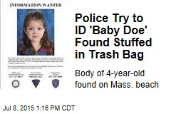 Police Try to ID 'Baby Doe' Found Stuffed in Trash Bag