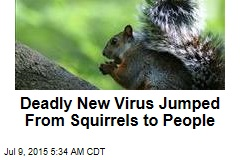 Deadly New Virus Jumped From Squirrels to People