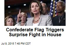 Confederate Flag Triggers Surprise Fight in House