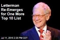 Letterman Re-Emerges for One More Top 10 List