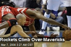 Rockets Climb Over Mavericks