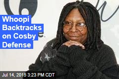 Whoopi Backtracks on Cosby Defense