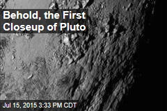 Behold, the First Closeup of Pluto