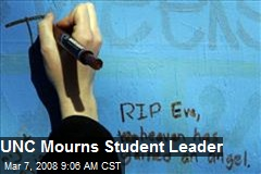 UNC Mourns Student Leader