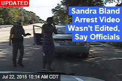 Sandra Bland Arrest Video Looks to Be Doctored