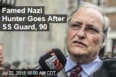 Famed Nazi Hunter Goes After SS Guard, 90