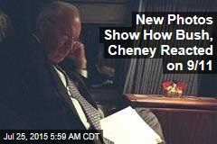 New Photos Show How Bush, Cheney Reacted on 9/11